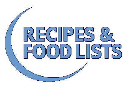 Low Oxalate Diet-Recipes & Food Lists